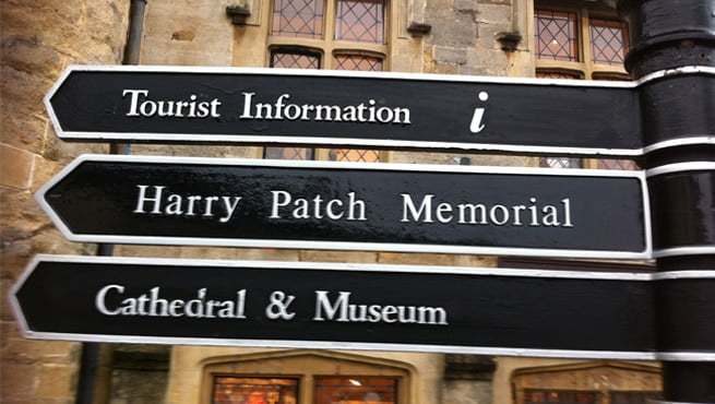 Bristol Made Signs in Wells, Somerset (New Middle Panel)