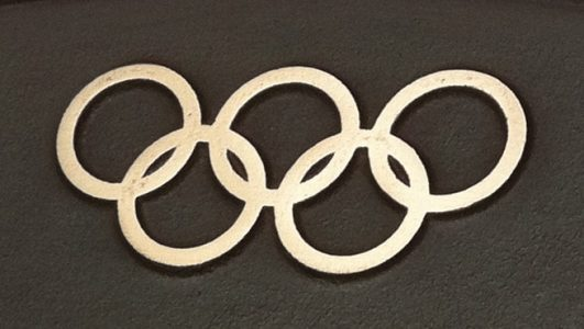 Cast Bronze Plaque for Olympic Games 2012
