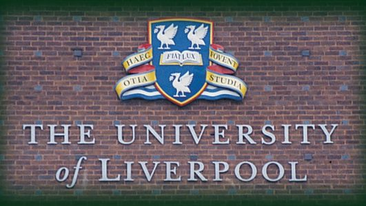 The University of Liverpool, Lettering and Coat of Arms