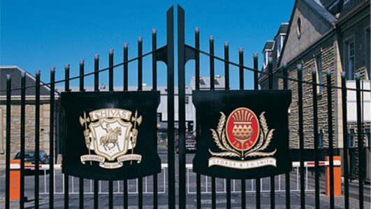 Chivas Coats of Arms on Gates