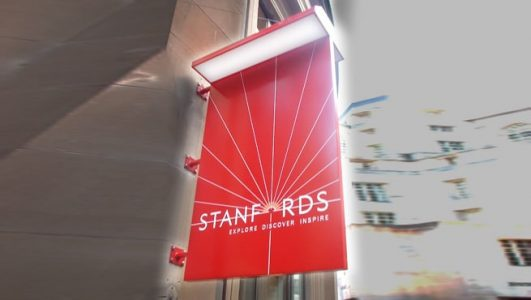 Illuminated Projecting Sign - Stanfords Bath