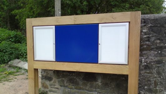 Arnos Vale, Bristol: Lockable Cabinets with Map Panel